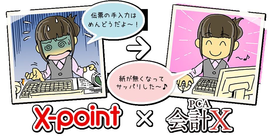X-point(エクスポイント)PCA会計連携キット